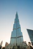 Burj Khalifa (torre) di Khalifa, Dubai Fotografia Stock