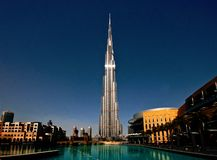 Burj Khalifa Tower arkivbild