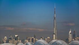 Burj Khalifa Tower Royaltyfri Bild