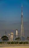 Burj Khalifa Tower Royaltyfri Fotografi