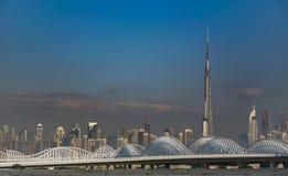 Burj Khalifa Tower Arkivbilder