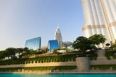 Burj Khalifa tower. Stock Photo