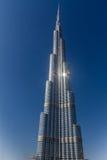 Burj Khalifa Tower in Dubai Stockbild