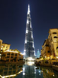 Burj Khalifa Tower Dubai Royaltyfria Bilder