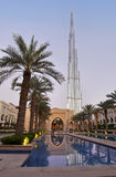 Burj Khalifa Tower Dubai Royaltyfri Fotografi