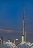 Burj Khalifa Tower, the highest building in the world Stock Photo