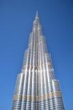 Burj Khalifa vom Boden Lizenzfreies Stockbild