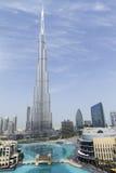 Burj Khalifa - światu Wysoki budynek Fotografia Royalty Free