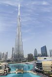 Burj Khalifa - World's Tallest Building Royalty Free Stock Photography