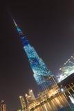 Burj Khalifa, world`s tallest skyscraper, Dubai, United Arab Emirates. Dubai, UAE - Jan 31, 2016: Burj Khalifa, world`s tallest skyscraper, Downtown Burj Dubai Stock Photos