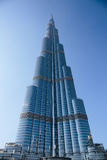 Burj Khalifa - the world's tallest tower at Downtown Burj Dubai Stock Photos