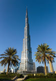 Burj Khalifa - the world's tallest tower at Downtown Burj Dubai Stock Image