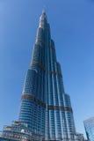 Burj Khalifa - the world's tallest tower at Downtown Burj Dubai Royalty Free Stock Photography