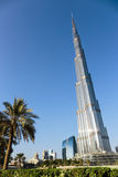 Burj Khalifa - the world's tallest tower at Downtown Burj Dubai Stock Images