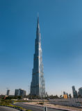 Burj Khalifa - the world's tallest tower in Dubai Stock Photography