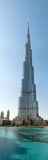 Burj Khalifa - the world's tallest tower in Dubai Royalty Free Stock Photo