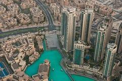 Burj Khalifa wysoki budynek w świacie Obraz Stock