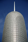 Burj Qatar en Doha foto de archivo