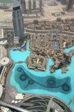 burj w centrum Dubai khalifa zdjęcia royalty free