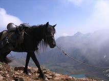 Burjatien baikal Der Shumak-Durchlauf 2760 Meter stockfotos