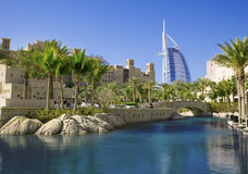 burjdubai för al arabiskt hotell Royaltyfria Bilder