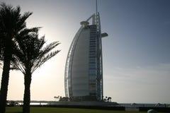 burjdubai för al arabiskt hotell Fotografering för Bildbyråer