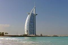 burjdubai för al arabiskt hotell UAE Royaltyfria Foton
