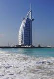 burjdubai för al arabiskt hotell UAE Royaltyfri Fotografi