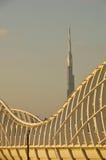 burjdubai khalifa Arkivbild