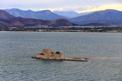 Burji tower in Nafplion, Argolida, Greece Stock Photo