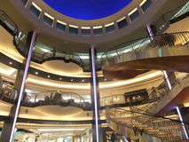 BurJuman shopping mall in Dubai, UAE Stock Image