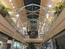 BurJuman shopping mall in Dubai, UAE. It was the second major shopping mall to be opened in Dubai, after Al Ghurair City Stock Image