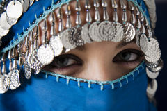 burka royaltyfri fotografi