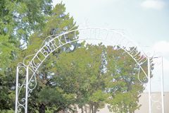 Burke Cemetery Established 1950, Forth Worth, Texas Stockfoto