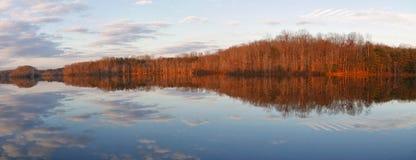 Burke Lake Virginia stockbilder