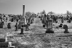Burkes Garden Central Lutheran Church Cemetery Royalty Free Stock Photos