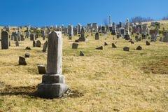 Burkes Garden Central Lutheran Church Cemetery Stock Images