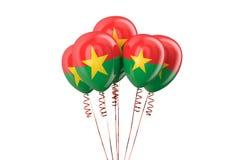 Burkina Faso patriotic balloons holyday concept Royalty Free Stock Photos