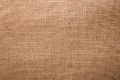 Burlap αριθμού σάκος σε ένα άσπρο υπόβαθρο με το κενό διάστημα Στοκ φωτογραφία με δικαίωμα ελεύθερης χρήσης