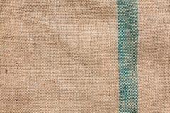 Burlap ελαφριά φυσική σύσταση λινού Στοκ εικόνες με δικαίωμα ελεύθερης χρήσης