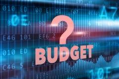 burlap προϋπολογισμών οδηγημένος τρύπα σάκος έννοιας νομισμάτων που ανατρέπεται Στοκ εικόνες με δικαίωμα ελεύθερης χρήσης