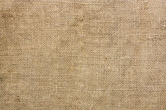 Burlap. Old brown burlap texture for background Royalty Free Stock Photo