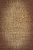 Burlap. Old brown burlap texture for background Stock Photo