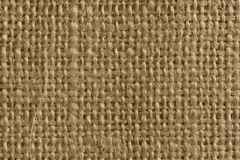 Burlap. Closeup image of a piece of burlap royalty free stock photos