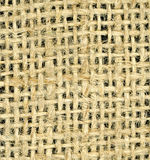 Burlap. Very detailed burlap back ground Royalty Free Stock Images