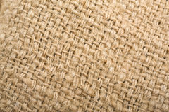 Burlap background. Close-up textured background of burlap. Best choice for designers royalty free stock photo