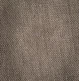 Burlap background in close up. stock image