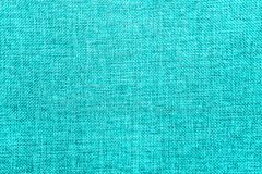 Burlap background colored in turquoise blend stock illustration