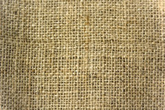 Burlap background. Grunge close-up framed burlap background Royalty Free Stock Photo
