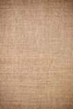 Hessian. Burlap Background. Natural textured canvas Royalty Free Stock Images